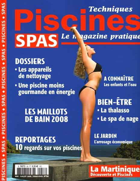 couverture magazine Technique piscine SPAS
